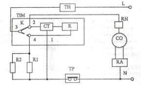 Схема таймера индезит